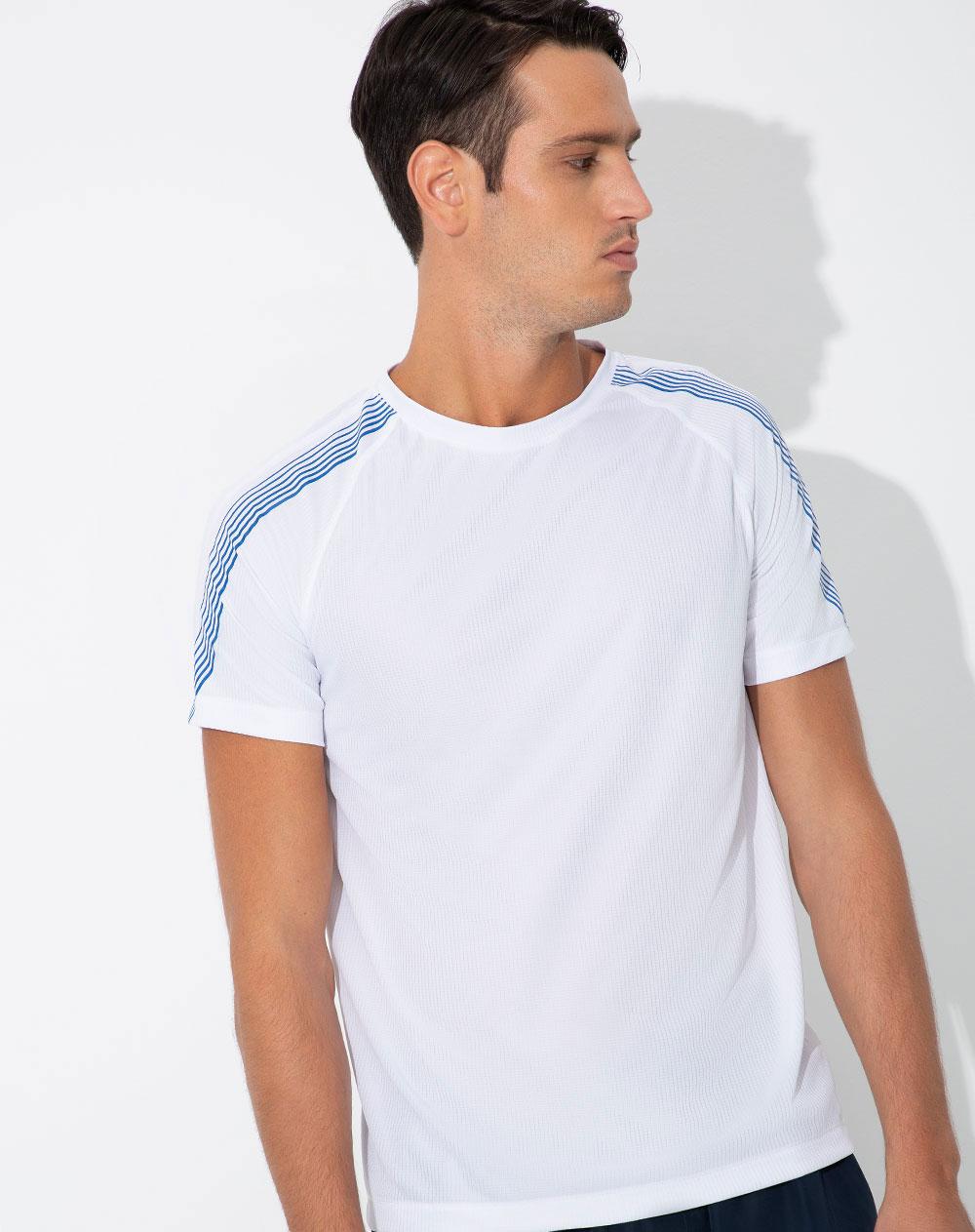 De Blanco Secado Camiseta Punto Rápido Fetre Hombre Blanca zMpqUSVLG