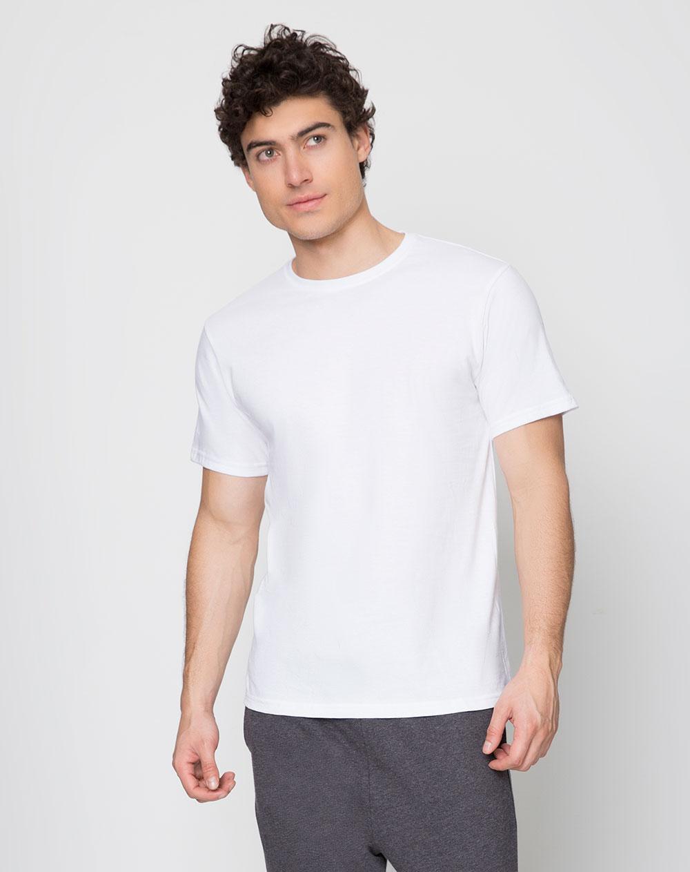 D o de camisetas de hombre verdi blanco s de manga corta for Ropa interior punto blanco