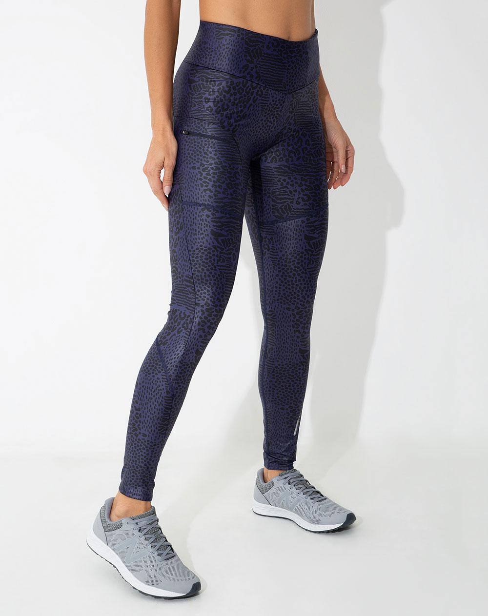 nueva estilos b76cf 37cd3 Pantalón de Mujer Zip Azul Oscuro Cortes Ergonómicos Punto ...